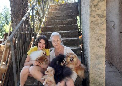 La nostra famiglia di Volpino Di Pomerania